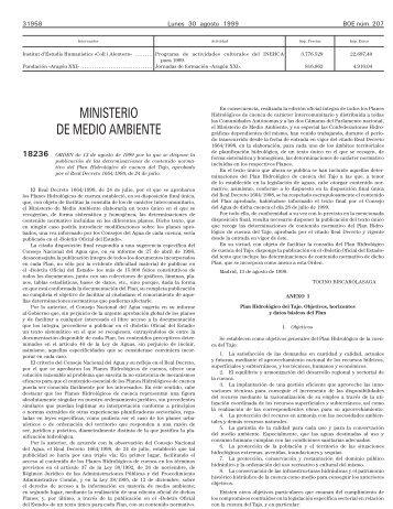BOE 207 de 30/08/1999 Sec 3 Pag 31958 a 31994 - BOE.es