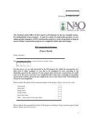 Questionnaire (pdf - 586KB) - National Audit Office