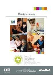 Dossier de presse USDA - Conseil général du Calvados