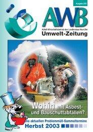 AWB-Zeitung 2/2003
