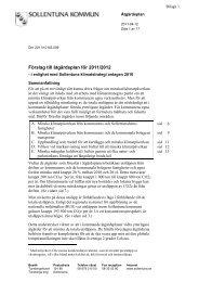 Förslag till åtgärdsplan för 2011/2012 - Sollentuna kommun
