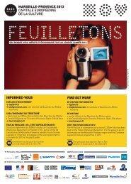 Feuilletons brochure - Marseille Provence 2013