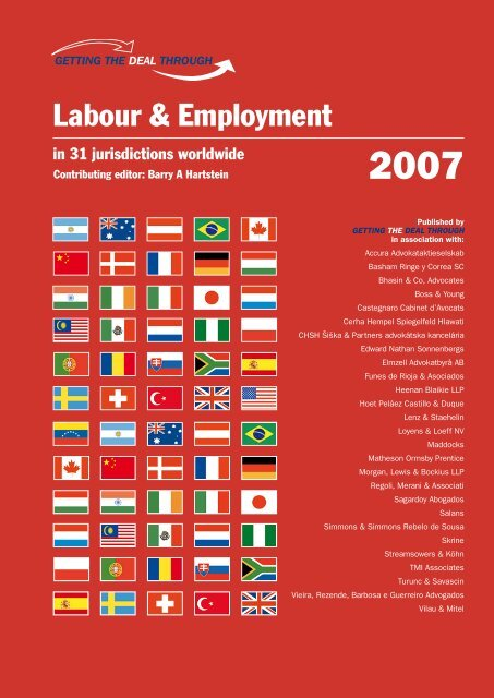 labour & employment in 31 jurisdictions worldwide - ENS
