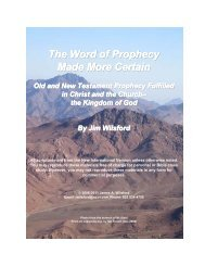 The Word of Prophecy Made More Certain PDF - Gospel Lessons