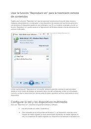 Configurar la red y los dispositivos multimedia - MSN.com