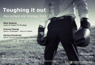 Toughing it out - Crédit Agricole CIB