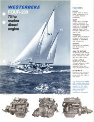 Engine - Westerbeke