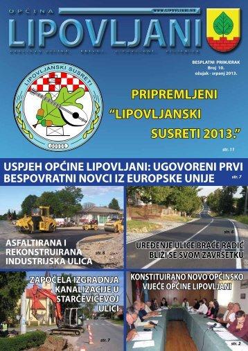 Bilten 10 - Općina Lipovljani