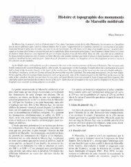 Histoire et topographie des monuments de Marseille ... - E-Corpus