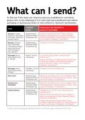 Prohibitions and restrictions in the domestic and ... - Royal Mail - Page 4