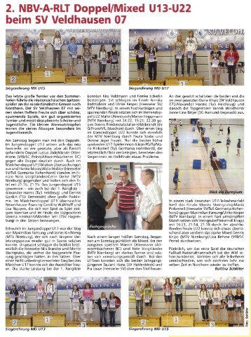 beim SV Veldhausen 07 - Badmintonteam Heesseler SV