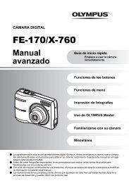 FE-170/X-760 - Olympus