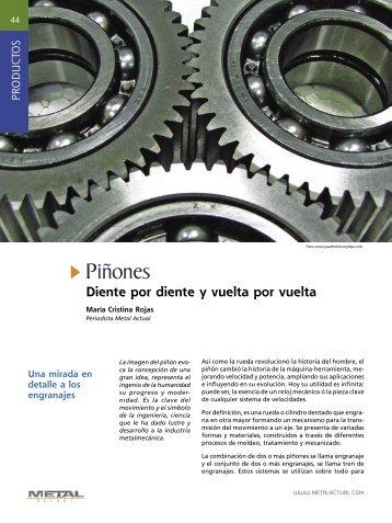 Piñones - Revista Metal Actual