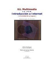 ULL Multimedia - Grupo de Tecnología Educativa