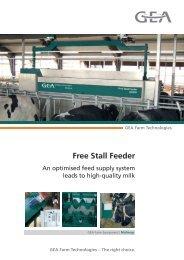 Free Stall Feeder - Mullerup