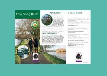 Cookham walks - River Thames