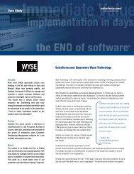 Case Study_wysetech_010203.qxd - Salesforce.com