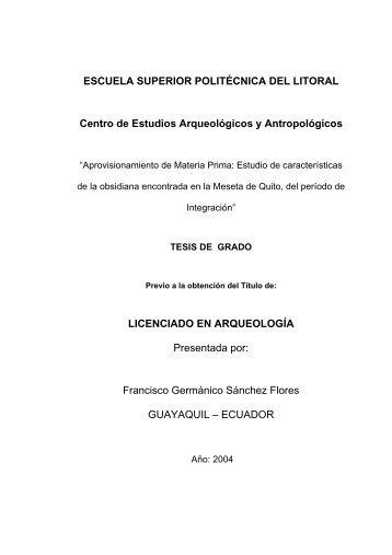ESCUELA SUPERIOR POLITÉCNICA DEL LITORAL Centro de ...