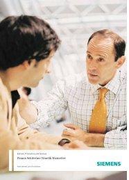 Finans Sektörüne Yönelik Hizmetler - Siemens