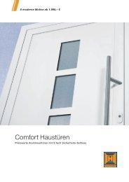 Comfort Haustüren - Hörmann