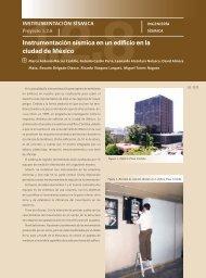 1.2.8 Instrumentación sísmica en un edificio en la ciudad de ... - UNAM