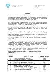 EDICTE - Consell Insular de Menorca