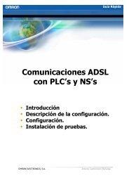 Comunicaciones ADSL con PLC's y NS's - Carol industrial, S.A.
