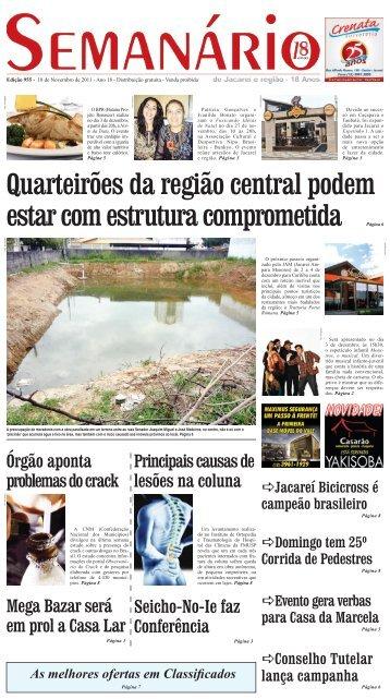 Edição 955, de 18 de novembro de 2011 - Semanário de Jacareí