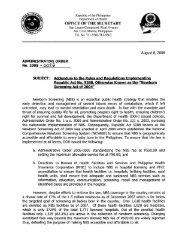 Administrative Order No. 2008-0026 - DOH