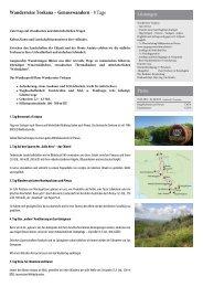 Wanderreise Toskana – Genusswandern