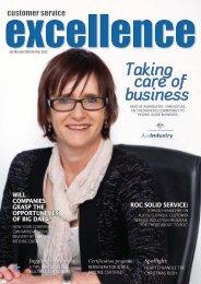 Taking care of business - Customer Service Institute of Australia