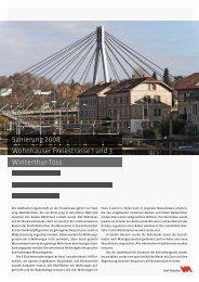 Wohnhäuser Freiestrasse 1 und 3 - Departement Bau - Winterthur