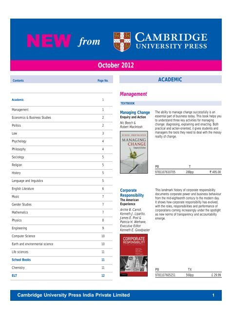 PDF File - Cambridge University Press India