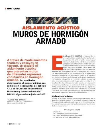 mUROS DE HORmIGón ARmADO - Biblioteca