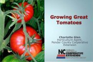 Fertilizers - Pender County Center
