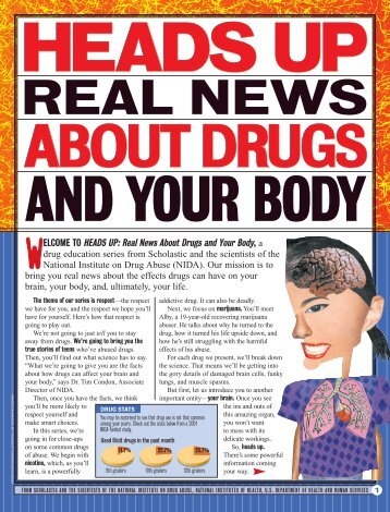 Heads Up: Real News About Drugs and Your Body - Scholastic
