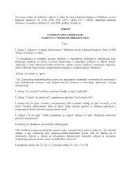Zakon o izmjenama i dopunama Zakona o visokom obrazovanju - PMF