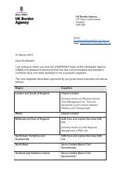 21 March 2012 Dear Sir/Madam I am writing to inform you that the ...