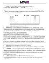 Supplementary Regs - MotorSport Vision Racing