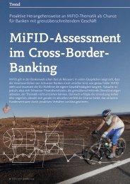 MiFID-Assessment im Cross-Border- Banking - solutionproviders