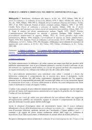 Ordine e ordinanza nel diritto amministrativo - Studio Legale Cavallo ...