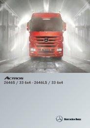Actros 2646 S 6x4 - Mercedes Benz