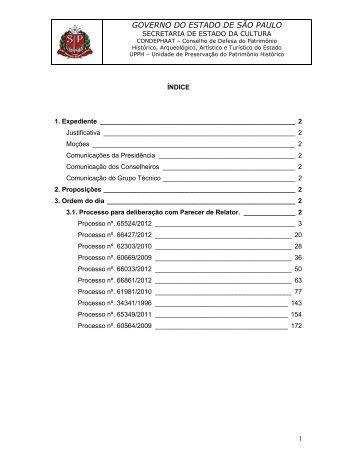 Pauta 1693 de 10/12/2012 - Secretaria de Estado da Cultura ...
