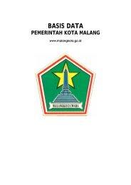 BASIS DATA - Pemerintah Kota Malang