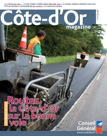 Mars 2009 en PDF - Conseil général de Côte-d'Or
