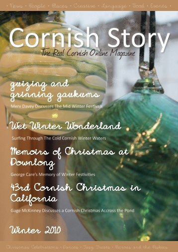 The Real Cornish Online Magazine - Cornish Story
