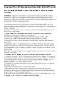 Déshumidificateur Meaco 30L et Meaco 40L Mode d'Emploi - Page 2