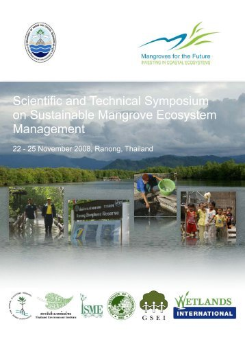 Scientific and Technical Symposium on Sustainable Mangrove ...