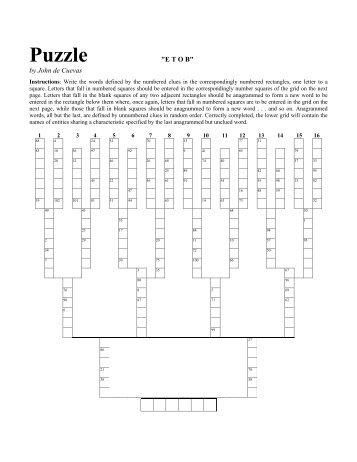 10 free Magazines from PUZZLECRYPT.COM