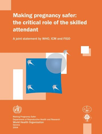 Skilled attendant1.p65 - libdoc.who.int - World Health Organization